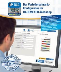 Easy Panel – der Verteilerschrank-Konfigurator im HAGEMEYER-Webshop