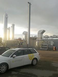 Software von SPANGLER automatisiert eine Biogasanlage.