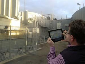 Captain Future ist Realität: mobile Bedienung per Tablet-PC