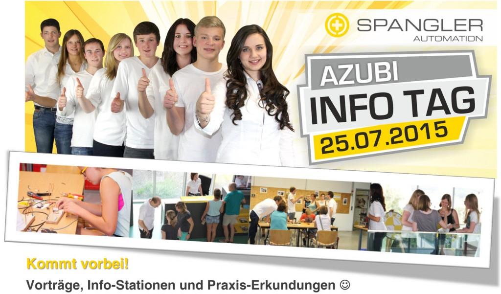 SPANGLER Automation Azubi-Info Tag 2015