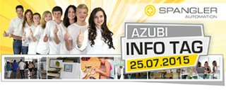 Azubi Info Tag 2015 SPANGLER Automation