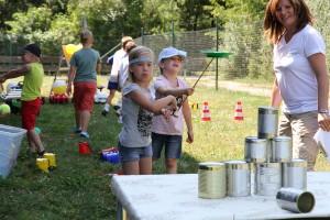 SPANGLER Kids Day Dosenwerfen