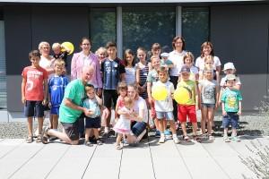 SPANGLER Kids Day Gruppenbild