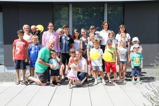 klein SPANGLER Kids Day Gruppenbild