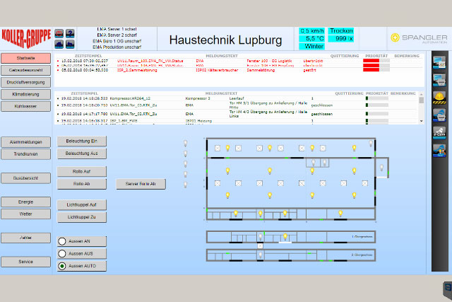 NEWSLETTER - Leitsystem Wärmeerzeugung - SPANGLER Automation