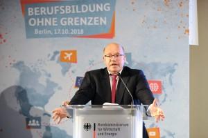 SPANGLER Automation - Berufsausbildung ohne Grenzen Schirmherr Peter Altmaier