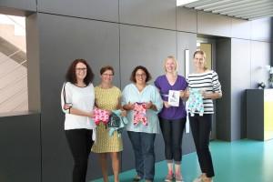 Nähen für Frühchen und Sternenkinder Beilngries e.V. präsentieren ihre Arbeit den Mitarbeitern der SPANGLER GMBH