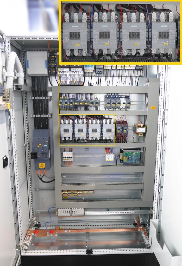 Lastschütz für große elektrische Leistung